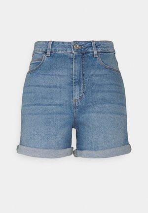 PCPACY  - Jeans Short / cowboy shorts - light blue denim