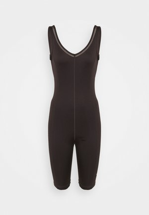 EXHALE LEOTARD BIKER - Tuta - after dark