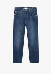 Mango - Straight leg jeans - donkerblauw - 5