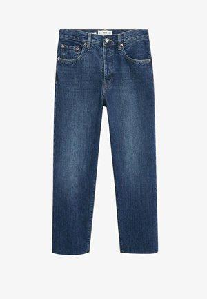 Straight leg jeans - donkerblauw