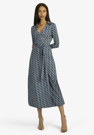 Day dress - blue-schwarz