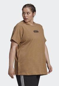 adidas Originals - Print T-shirt - cardboard - 2