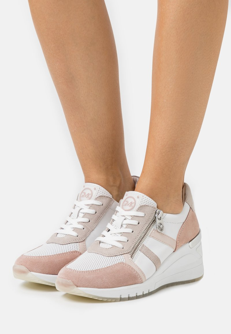 Marco Tozzi - BY GUIDO MARIA KRETSCHMER - Sneakers laag - white
