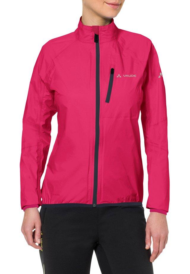 DROP - Waterproof jacket - bramble