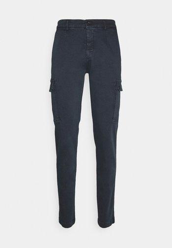 JAAN - Cargo trousers - blue