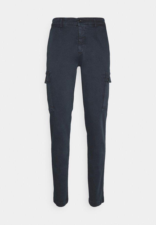 JAAN - Pantaloni cargo - blue