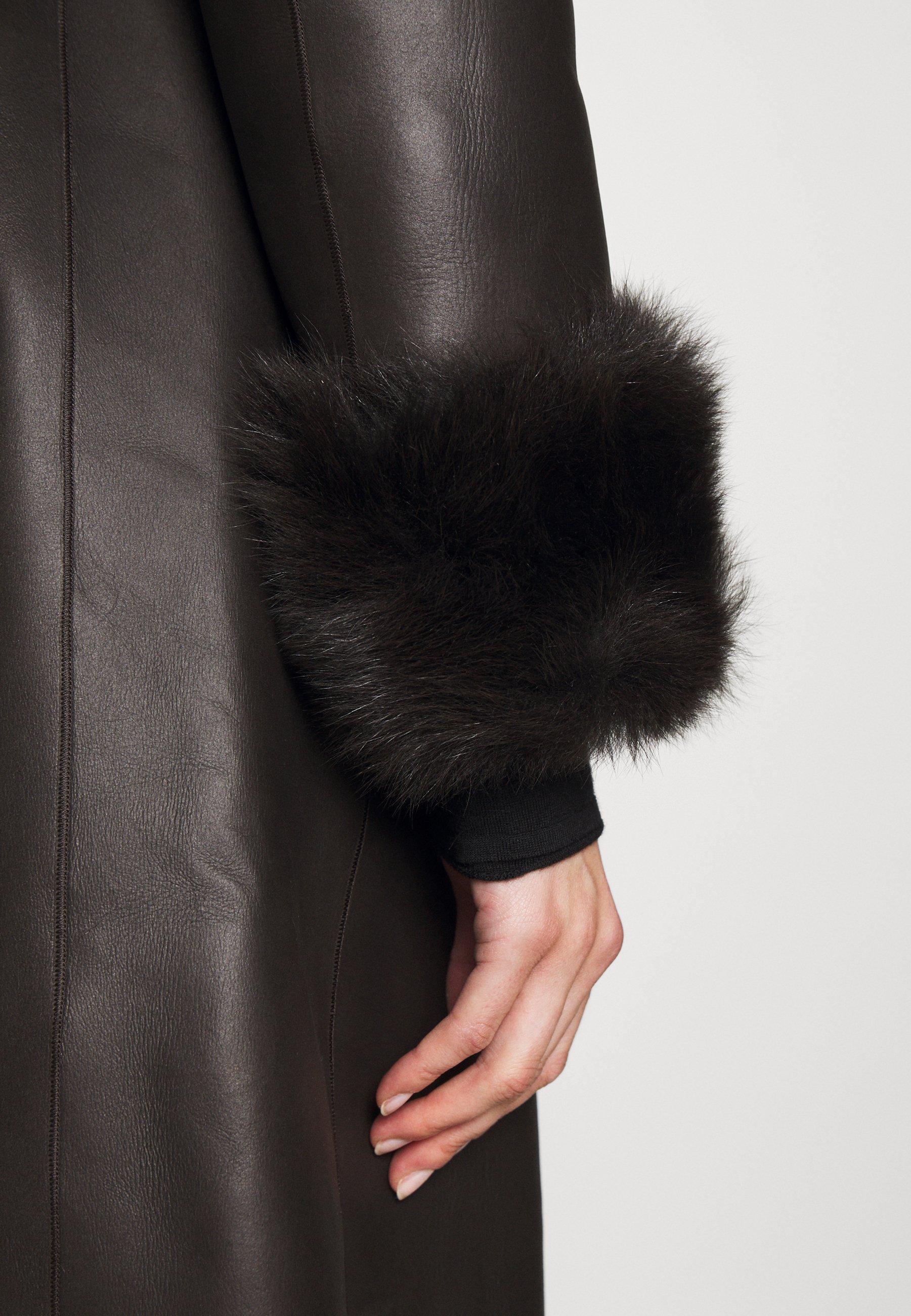 Femme FLO COAT - Veste en cuir