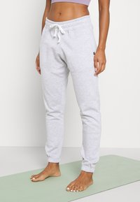 Cotton On Body - LIFESTYLE GYM TRACK PANTS - Tracksuit bottoms - clody grey marle - 0