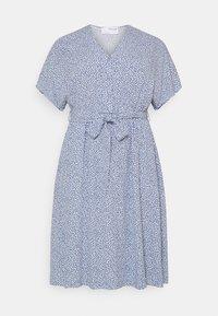 Selected Femme Curve - SLFENNA SHORT DRESS  - Day dress - arctic ice - 0