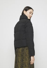 ONLY - ONLDINA SHORT QUILTED PUFFER - Winter jacket - black - 2