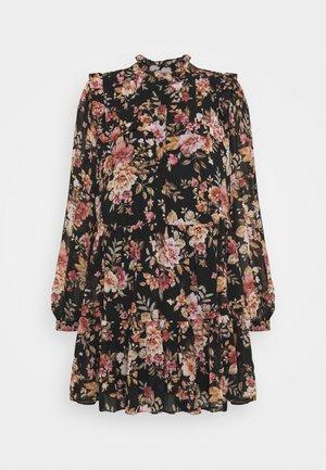 SIMONA RUFFLE SMOCK DRESS - Sukienka koszulowa - midnight wildflower