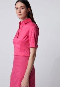 BOSS - BASHINI - Button-down blouse - pink - 3