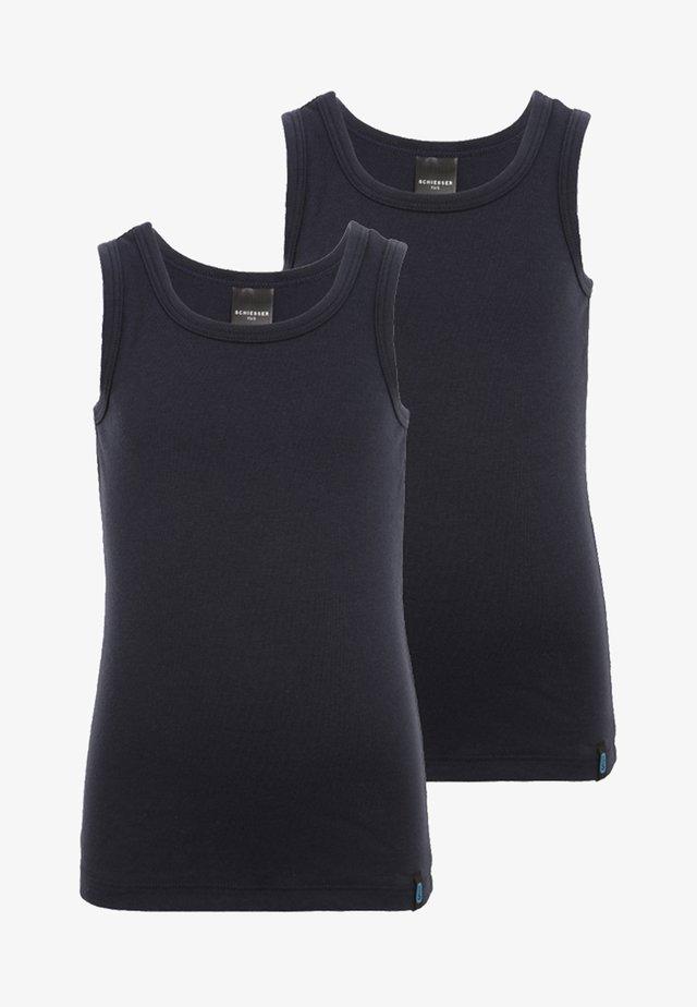 2 PACK - Unterhemd/-shirt - nachtblau