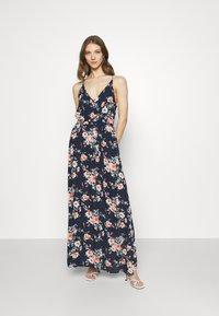 Vila - VIMESA WRAP DRESS - Maxi dress - navy blazer - 1
