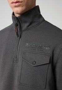 Napapijri - Sweatshirt - dark grey solid - 4