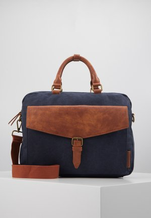 Briefcase - dark blue