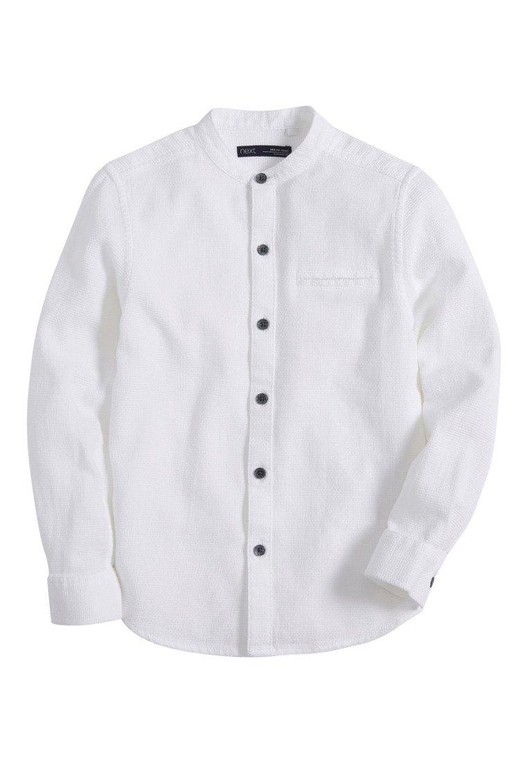 Next - LONG SLEEVE TEXTURED (3-16YRS) - Shirt - white