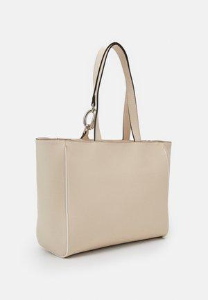 CHAIN SHOPPER - Handbag - beige