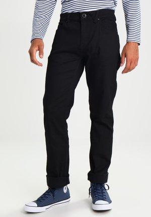 SOLVER DENIM PANT - Straight leg jeans - black on black