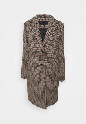 VMBLAST CHECK LONG - Classic coat - tan