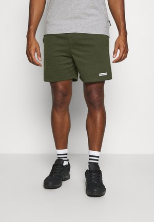 JJIZSWEAT SHORT  - Sports shorts - forest night