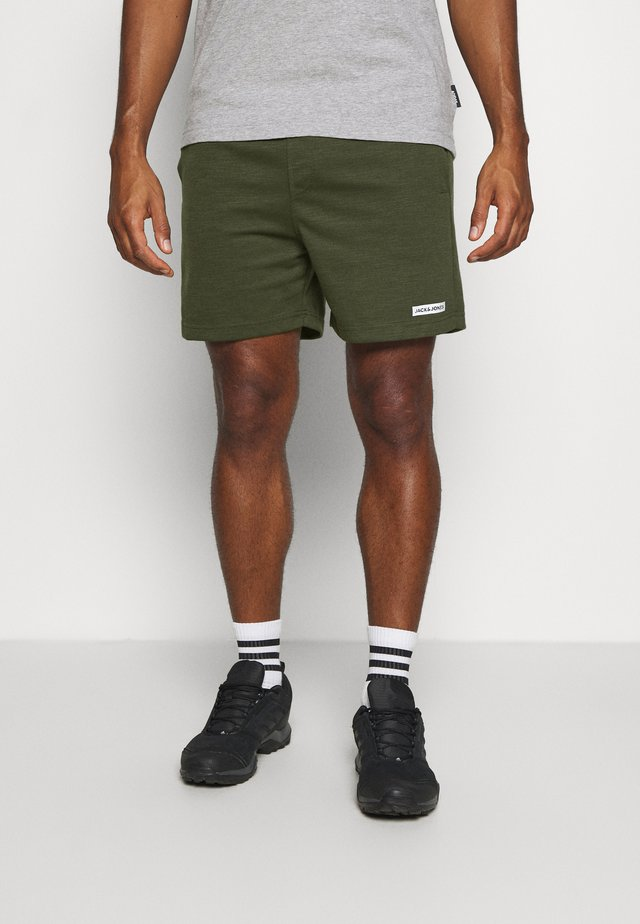 JJIZSWEAT SHORT  - Träningsshorts - forest night