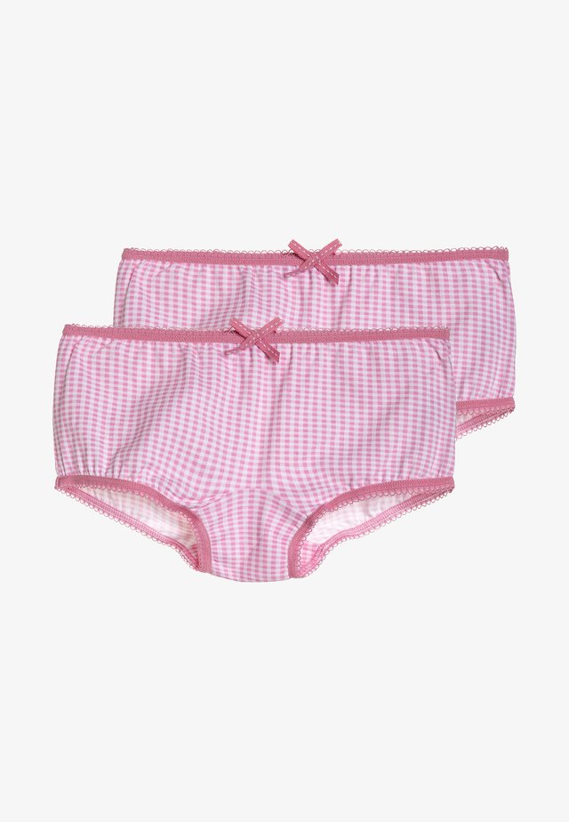 2 PACK  - Shorty - pink