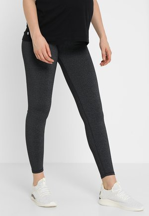 MATERNITY CORE - Leggings - charcoal marle