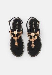 Laura Biagiotti - T-bar sandals - black - 5