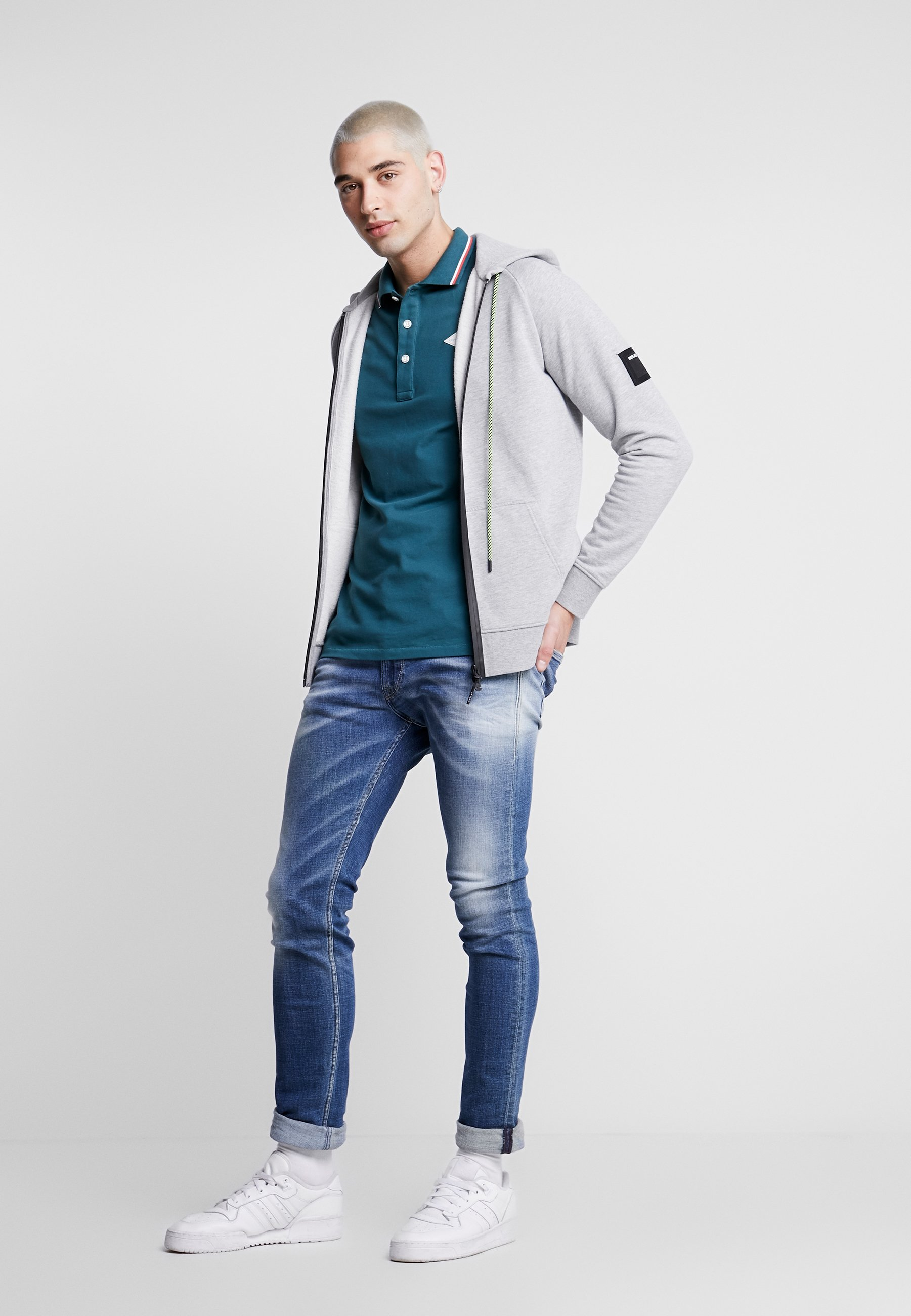 Replay JONDRILL - Jean slim - medium blue