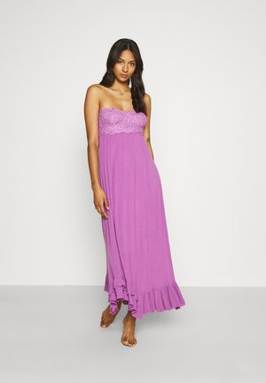 ADELLA CORSET - Maxi dress - beauty berry