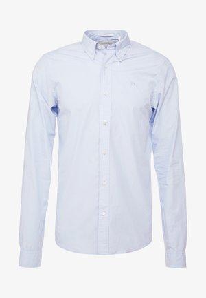 CRISPY REGULAR FIT BUTTON DOWN COLLAR - Shirt - blue
