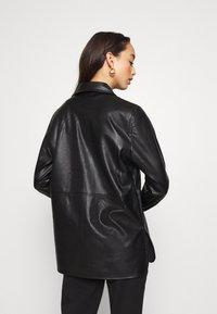Gina Tricot - ANNIE - Button-down blouse - black - 2