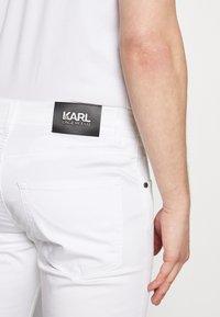 KARL LAGERFELD - Kalhoty - white - 5