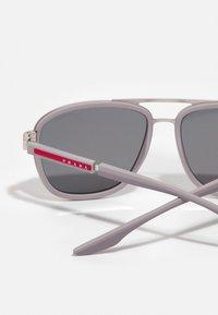 Prada Linea Rossa - Solglasögon - matte silver-coloured/ice rubber - 2