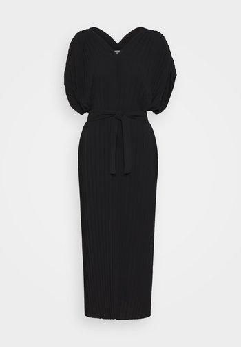 NEW JELLY DRESS PLISSE - Denní šaty - black