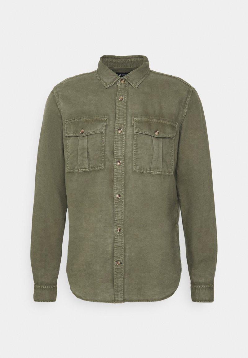 GAP - UTILITY - Shirt - army green