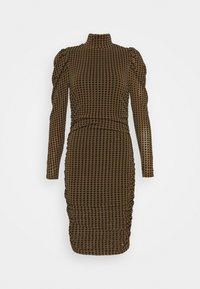 Fashion Union - OUTIE DRESS - Cocktail dress / Party dress - pecan - 0