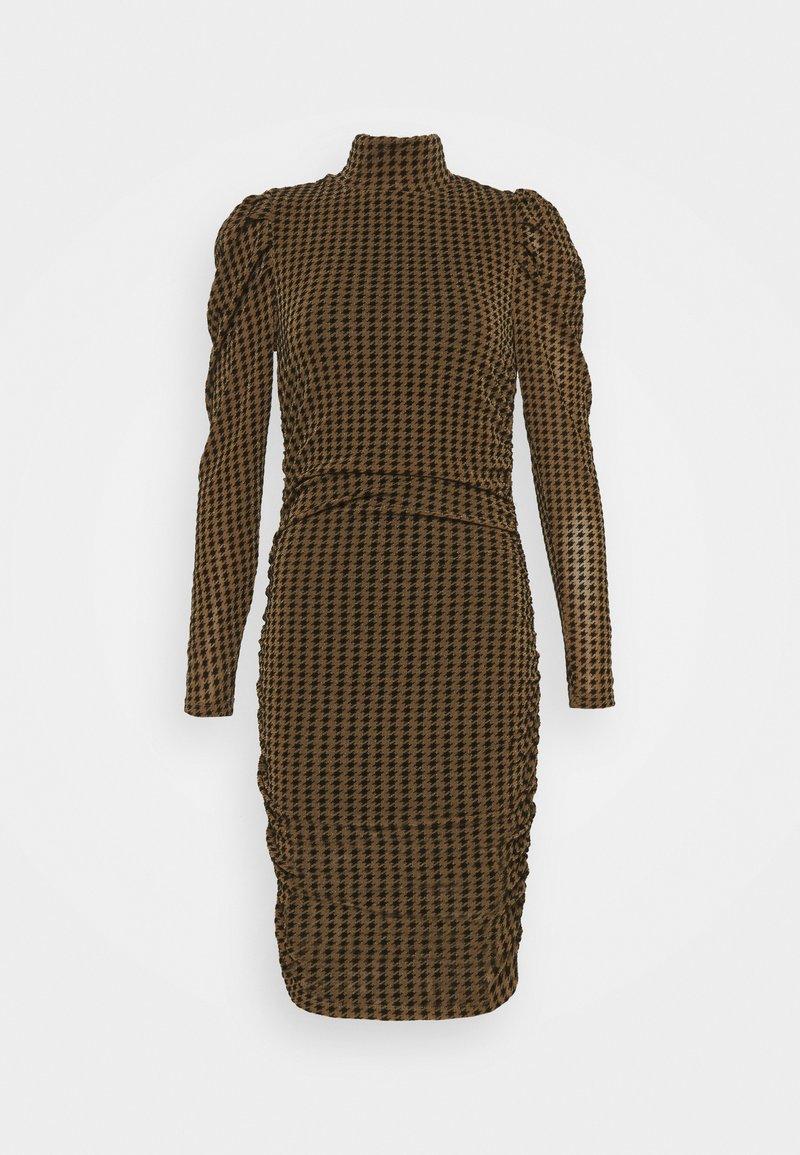 Fashion Union - OUTIE DRESS - Cocktail dress / Party dress - pecan