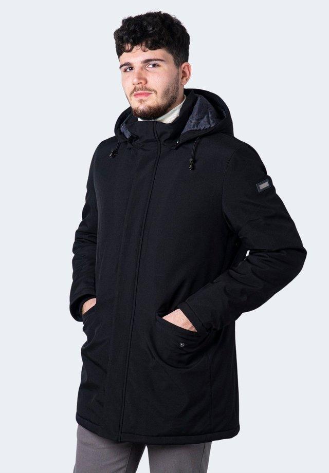 DAVIDE - Cappotto invernale - black
