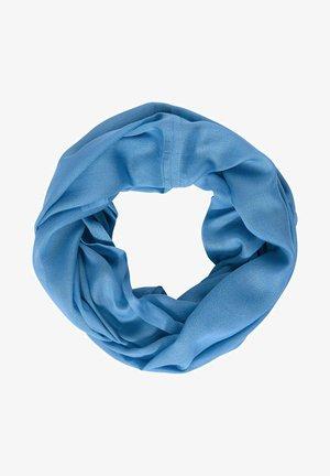 MIT SCHIMMER-PRINT - Snood - blau
