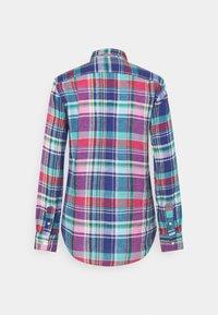 Polo Ralph Lauren - PLAID - Button-down blouse - pink/blue - 9