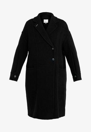 LONG OVERSIZED COAT - Cappotto classico - black