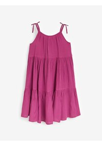 Next - TIERED  - Day dress - purple - 1