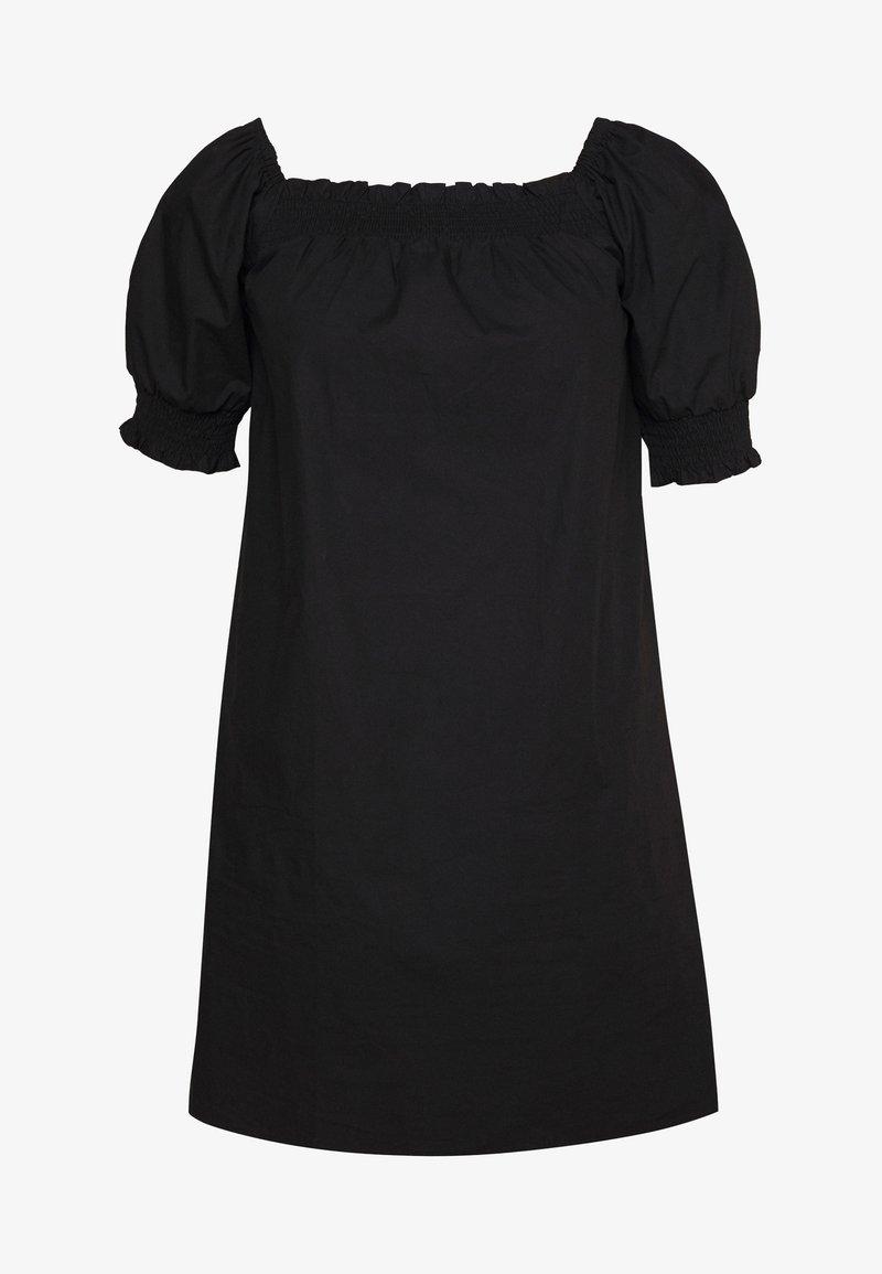 Fashion Union Plus - DARLON DRESS - Day dress - black