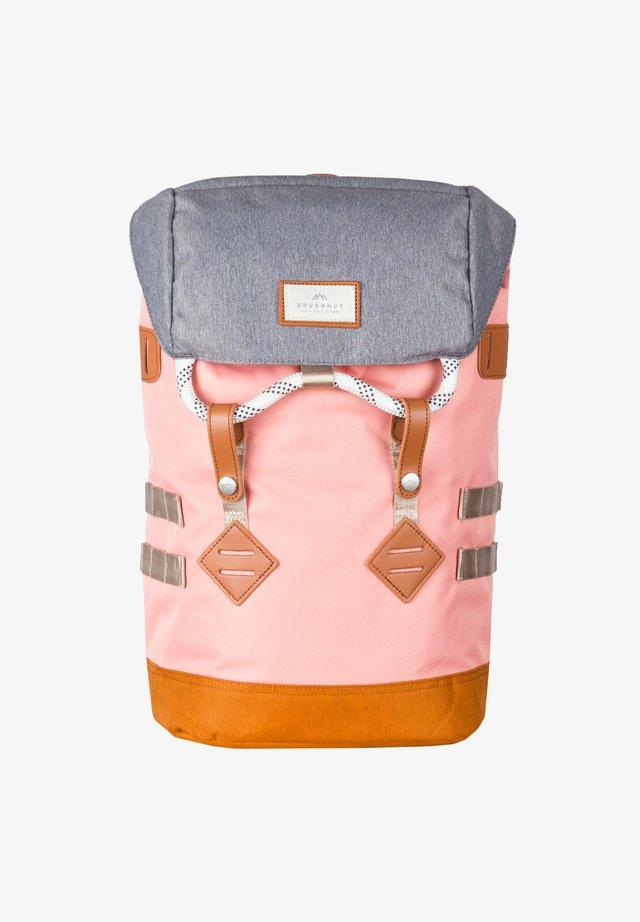 Rucksack - light pink x pumpkin
