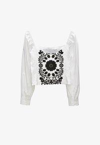 Uterqüe - Blouse - white, black - 5
