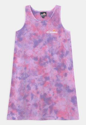 DELIANA - Jersey dress - pink/purple