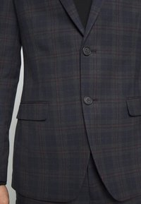 Ben Sherman Tailoring - OVERCHECK SUIT SLIM FIT - Oblek - navy - 8