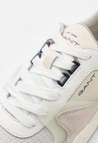 GANT - NICEWILL - Baskets basses - offwhite - 5